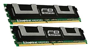 Оперативная память Kingston KVR667D2S8F5K2/1G