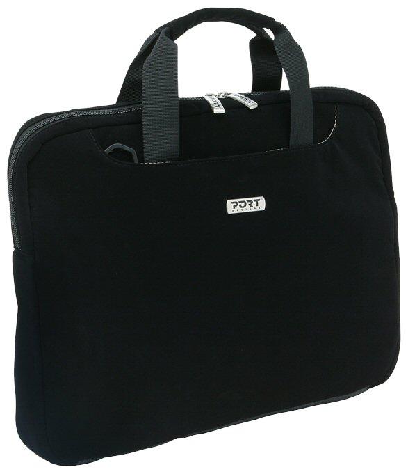 """Сумка для ноутбука PORT Designs Lugano 17"""" Black"""