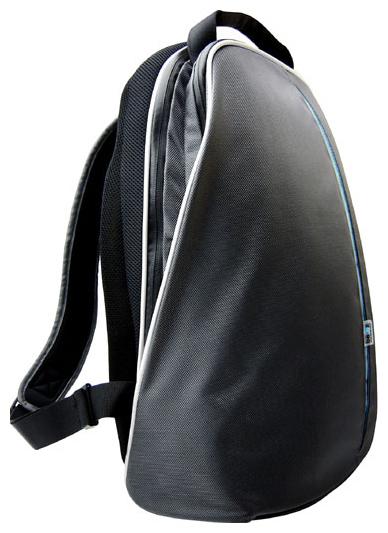 """сумка-рюкзак для ноутбука LE BAG PRO 17 """"i (silver grey & turquoise) (для..."""