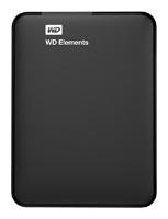 Внешний жесткий диск Western Digital WDBUZG0010BBK-WESN