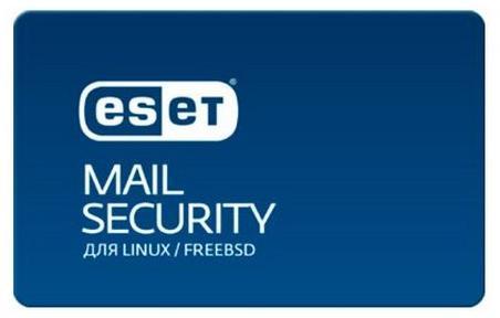 Защита почтовых серверов Eset Mail Security для Linux / FreeBSD  для 124 почтовых ящиков