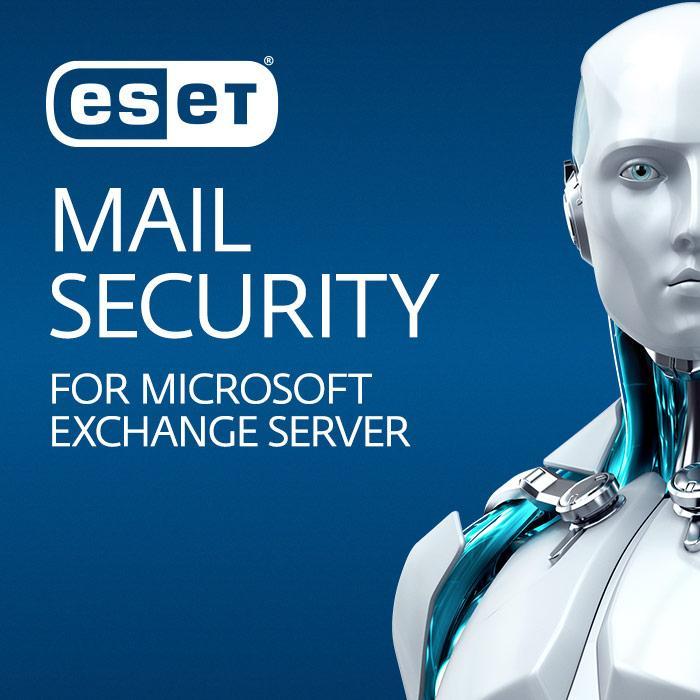 Защита почтовых серверов Eset Mail Security для Microsoft Exchange Server  для 25 почтовых ящиков