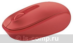 Купить Мышь Microsoft Wireless Mobile Mouse 1850 Red USB (U7Z-00034) фото 1
