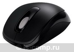 Купить Мышь Microsoft Wireless Mobile Mouse 1000 Black USB (2CF-00047) фото 1