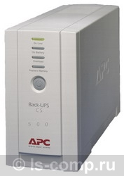 Купить ИБП APC Back-UPS CS 500 USB/Serial (BK500EI) фото 1