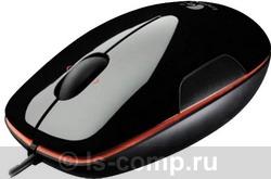 Купить Мышь Logitech LS1 Laser Mouse Black-Orange USB (910-003753) фото 1