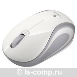 Купить Мышь Logitech Wireless Mini Mouse M187 White-Silver USB (910-002740) фото 2