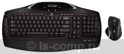 Купить Комплект клавиатура + мышь Logitech Cordless Desktop MX 5500 Revolution Black USB (920-000444) фото 1