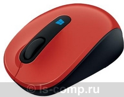 Купить Мышь Microsoft Sculpt Mobile Mouse Red USB (43U-00026) фото 1