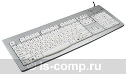 Купить Клавиатура Gembird KB-9848LU-R Silver USB (KB-9848LU-R) фото 1