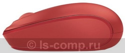 Купить Мышь Microsoft Wireless Mobile Mouse 1850 Red USB (U7Z-00034) фото 3