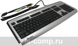 Купить Клавиатура A4 Tech KLS-23MU Silver-Black USB+PS/2 (KLS-23MU) фото 1