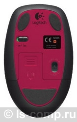 Купить Мышь Logitech Wireless Mouse M345 Black-Pink USB (910-002591) фото 5