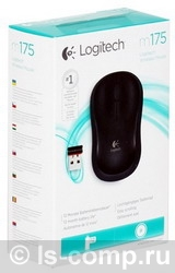 Купить Мышь Logitech Wireless Mouse M175 Black USB (910-002778) фото 3