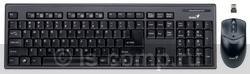 Купить Комплект клавиатура + мышь Genius SlimStar 801 Black USB (G-TT SlimStar 801) фото 1