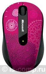 Купить Мышь Microsoft Wireless Mobile Mouse 4000 Studio Series Pirouette Pink USB (D5D-00094) фото 4