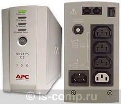 Купить ИБП APC Back-UPS CS 350 USB/Serial (BK350EI) фото 2