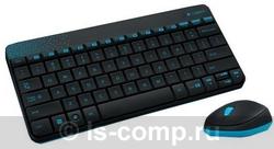 Купить Комплект клавиатура + мышь Logitech Wireless Combo MK240 Black USB (920-005790) фото 1