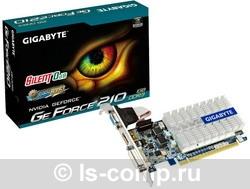 Купить Видеокарта Gigabyte GeForce 210 520Mhz PCI-E 2.0 1024Mb 1200Mhz 64 bit DVI HDMI HDCP (GV-N210SL-1GI) фото 2
