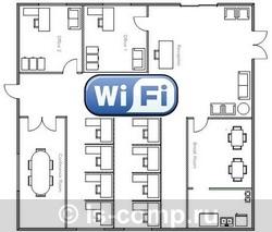 Купить Готовое Wi-Fi решение для покрытия объекта до 150 м2 + уличная территория до 150 м2 (ls-wifi-150-str) фото 1