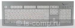 Купить Клавиатура Gembird KB-9848LU-R Silver USB (KB-9848LU-R) фото 2