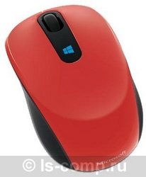 Купить Мышь Microsoft Sculpt Mobile Mouse Red USB (43U-00026) фото 2
