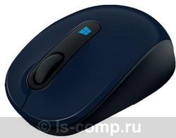 Купить Мышь Microsoft Sculpt Mobile Mouse Blue USB (43U-00014) фото 1