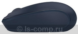 Купить Мышь Microsoft Wireless Mobile Mouse 1850 dark Blue USB (U7Z-00014) фото 3