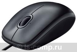 Купить Мышь Logitech B110 Optical Mouse USB Black (910-001246) фото 2