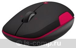 Купить Мышь Logitech Wireless Mouse M345 Black-Pink USB (910-002591) фото 2