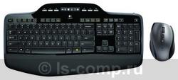 Купить Комплект клавиатура + мышь Logitech Wireless Desktop MK710 Black-Silver USB (920-002434) фото 2