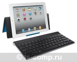 Купить Клавиатура Logitech Tablet Keyboard for iPad Black Bluetooth (920-003303) фото 3