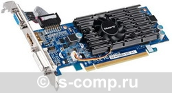 Купить Видеокарта Gigabyte GeForce 210 590Mhz PCI-E 2.0 1024Mb 1200Mhz 64 bit DVI HDMI HDCP (GV-N210D3-1GI) фото 1