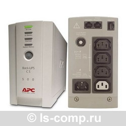 Купить ИБП APC Back-UPS CS 500 USB/Serial (BK500EI) фото 2