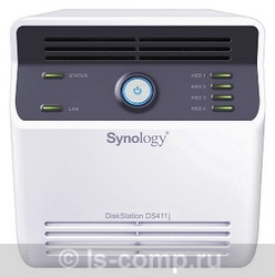 Купить Сетевое хранилище Synology DS411j (DS411j) фото 1