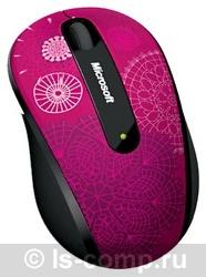 Купить Мышь Microsoft Wireless Mobile Mouse 4000 Studio Series Pirouette Pink USB (D5D-00094) фото 2