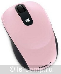 Купить Мышь Microsoft Sculpt Mobile Mouse Pink USB (43U-00020) фото 2