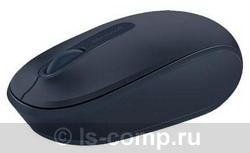 Купить Мышь Microsoft Wireless Mobile Mouse 1850 dark Blue USB (U7Z-00014) фото 1