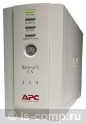 Купить ИБП APC Back-UPS CS 350 USB/Serial (BK350EI) фото 1