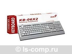 Купить Клавиатура Genius KB06X2 Black PS/2 (G-KB06X2 PS/2) фото 1