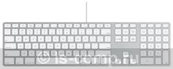 Купить Клавиатура Apple Wired Keyboard White USB (MB110RS/A) фото 1