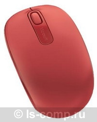 Купить Мышь Microsoft Wireless Mobile Mouse 1850 Red USB (U7Z-00034) фото 2