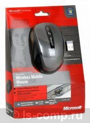 Купить Мышь Microsoft Wireless Mobile Mouse 3500 Lochness Grey USB (GMF-00292) фото 3