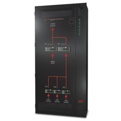 Parallel Maintenance Bypass Panel, up to 3 units 30-40kVA, 400V Wallmount SBPAR30K40H-WP