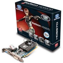 Radeon HD 5570 650 Mhz PCI-E 2.1 1024 Mb 1800 Mhz 128 bit DVI HDMI HDCP 11167-00-10R