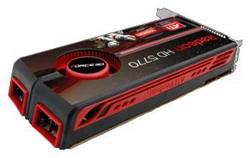 Radeon HD 5770 850 Mhz PCI-E 2.0 1024 Mb 4800 Mhz 128 bit 2xDVI HDMI HDCP F5770P-G5-340-FS