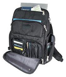 "Рюкзак Kensington Contour Backpack 17"" Black"