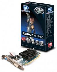 HD 5450 512MB DDR2 PCIE HDMI 11166-XX-10R
