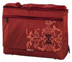 Стильная молодежная сумка Hama Aha Plant Notebook Messenger Beige.