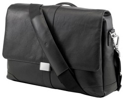 "HP Сумка HP Elite Leather Messenger Case, 15.6 "", черная."